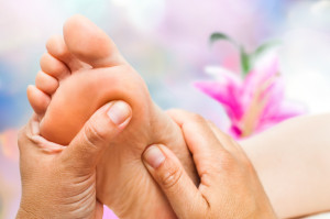 Start or finish your Reiki treatment with a Reflexology foot relaxer